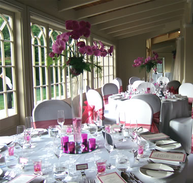 Reception with Orchids